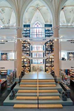 Книжный магазин Waanders In de Broeren