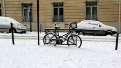 Финны предложили сибирякам велосипед в качестве зимнего транспорта