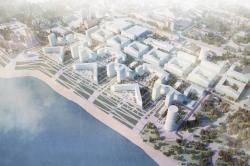 Архитектурно-планировочная концепция жилого квартала «Самарский каскад»