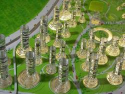 Проект района Межапарк в Риге, Латвия. 2006 г.