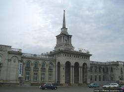 Реставрация Речного вокзала в Красноярске затягивается