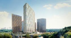 Гостинично-офисный комплекс на Никулинской улице