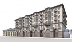 Административно-учебный и жилой комплекс на Котельнической набережной