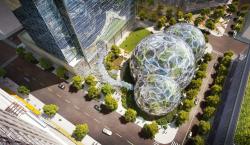Экоцентр Biodome в штаб-квартире компании Amazon