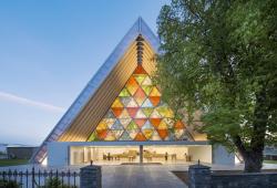 Картонный собор в Крайстчерче