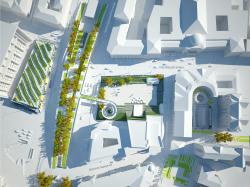 Концепция реконструкции Тургеневской площади и площади Мясницких ворот