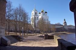 Псков без туристов, зато с кластером: прожекты и реальность