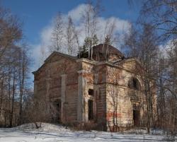 В Смоленской области варварски разрушен храм, построенный по проекту Доменико Жилярди