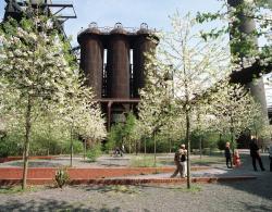 Парк Дуйсбург-Норд (Landschaftspark Duisburg-Nord) в Рурской области © Christa Panick