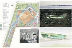 Конкурсный проект конгресс-центра в Стрельне