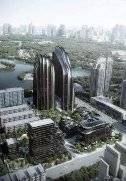 Комплекс Chaoyang Park Plaza