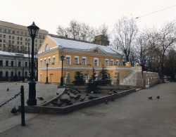 The place of the Epiphany cathedtal and the reconstruction of SP Dialog's building