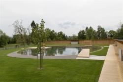 Бассейн Naturbad в Риэне