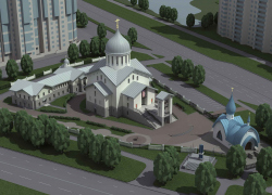 Комплекс храма Иоанна Кронштадтского на Кронштадтской площади