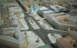 Проект реконструкции Сенной площади ставит под угрозу вестибюли метро