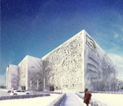 The architectural concept for the reconstruction of the Baking Factory «Prostor» in Moscow