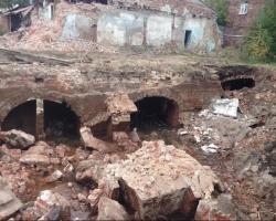 В центре Ярославля строители разрушили памятник архитектуры