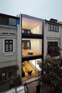 «Старое и новое» / Переосмысление традиционного разноуровневого дома в Шанхае (Китай), бюро Neri&Hu Design and Research Office. Изображение предоставлено WAF