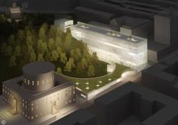 Стокгольмская Публичная Библиотека - новый корпус