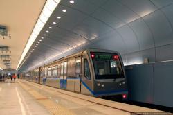 Станция метро Авиастроительная в Казани