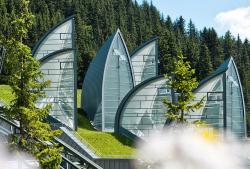 Спа-центр Tschuggen Bergoase