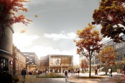 Кампус Копенгагенской школы бизнеса–расширение