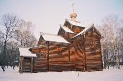 Деревянное зодчество. Витославлицы. Великий Новгород