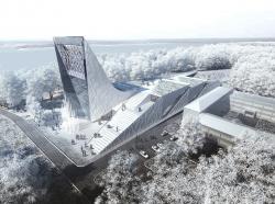 Конкурсный проект: концепция музея науки и техники в Томске