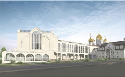 Проект православного духовного центра с гимназией в Южном Бутово