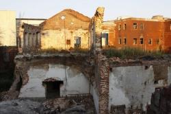В Серпухове возобновлен незаконный снос исторических корпусов ситценабивной фабрики Коншиных