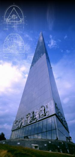 Стела-памятный знак «Первооткрывателям Земли Югорской»