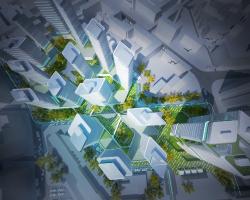 Проект жилого квартала на ул. Красноказарменная «Аннегофская роща»