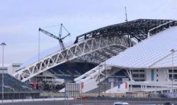 Демонтаж крыши «Фишта» обошелся в 700 миллионов рублей