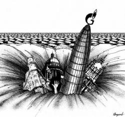 Петербургский апокалипсис. Город Петра провалится в яму, которую выроет для него Газпром?