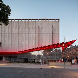 Универмаг Galeries Lafayette–реконструкция фасадов