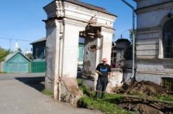 Восстанавливается памятник архитектуры