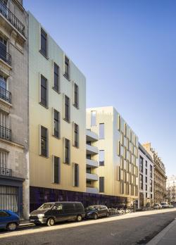 Социальный жилой дом на Пассаж-дю-Мелен