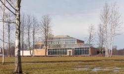 Студенческое кафе кампуса Высшей школы менеджмента Санкт-Петербургского Государственного Университета (ВШМ СПБГУ)