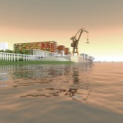 Градостроительная и объемно-пространственная концепция освоения территории речпорта г. Волгоград