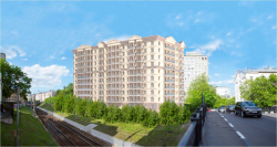 Проект гостиницы с апартаментами «Казакова-Парк»