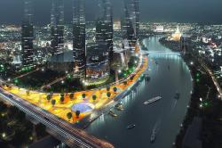 Центром форума станет река