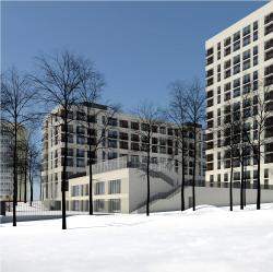 Жилой комплекс на ул. Гришина