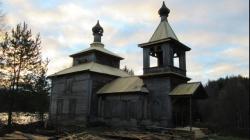В Кенозерском парке отреставрировали церковь Андрея Первозванного
