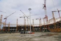 Стадион «Ростов-Арена» готов почти на 40 процентов