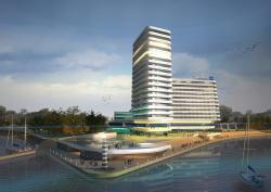 Концепция гостиничного комплекса Radisson Blu Moscow Riverside