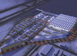 Гримшо проектирует «Город-аэропорт» для Санкт-Петербурга