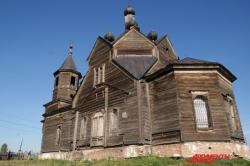 «Корабль» - призрак. Реставрация старейшего храма Красноярья началась