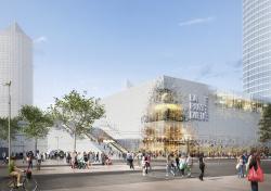 Торговый центр La Part-Dieu – реконструкция