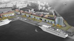 Комплексная общественно-жилая застройка на Васильевском острове (конкурсный проект), «Студия 44»