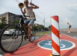 В Петербурге построят 34,5 км велосипедных маршрутов в 2016 году